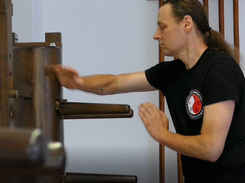 Masterclass Wooden Dummy - MUK JAN CHONG- Holzpuppe